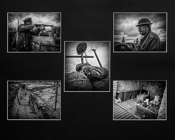 "1st Place ""The Trench"" by Brian Braybrooke."