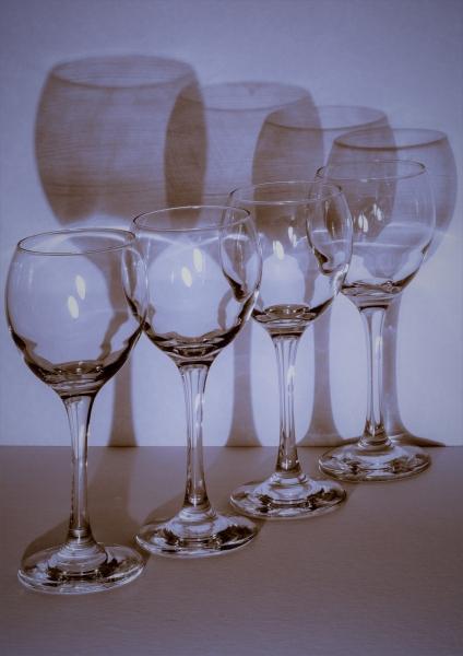 'Blue Glass Pattern'