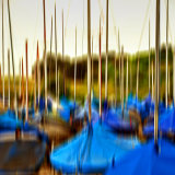 Boat Yard at Keyhaven