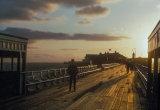 Birnbeck Pier, W-S-M. January 1971.