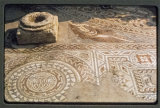 Woodchester Mosaic. Taken when it was last uncovered 1972