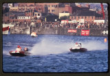 Power Boat Racing in the City Docks. June 1974