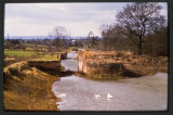 The top of Caen Hill Staircase on the Kennet and Avon Canal before restoration. 1986