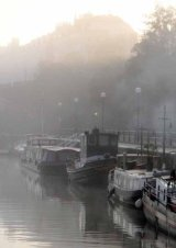 First Place Rachel Domleo 'Boats in the Mist'