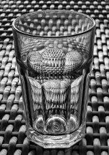 Joint 3rd Place 'Empty Glass' Rachel Domleo
