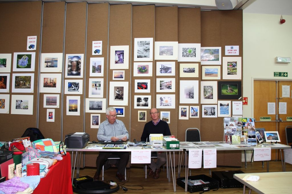 Lincombe Barn Christmas Fayre 2014 - Bruce and Roy