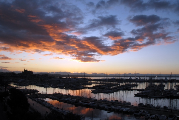 'Sunrise over Palma'