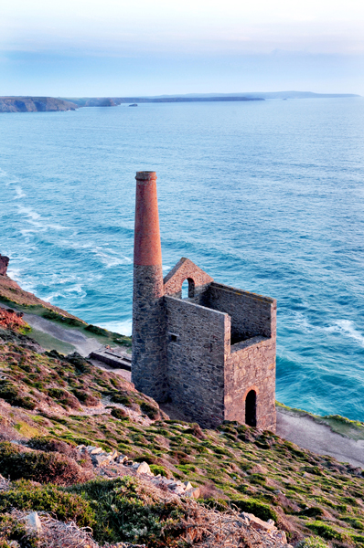 Wheal Coates Tin Mine in Cornwall