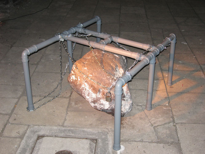 Caged Rock