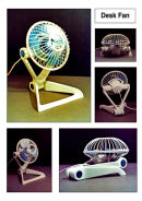 Product design - desk fan - working prototype