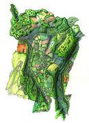 Topographic view