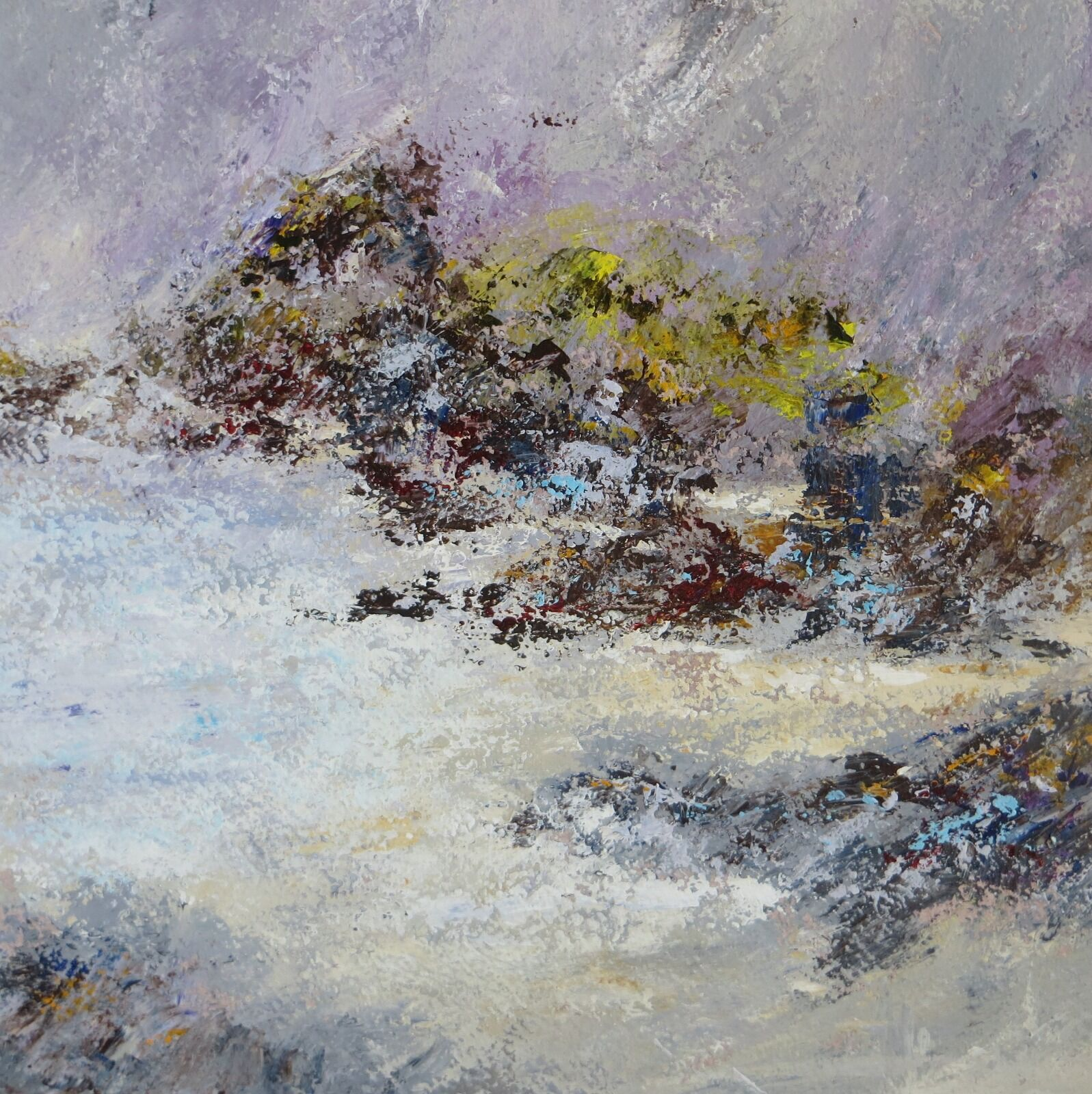 BLUSTERY DAY - KYNANCE COVE