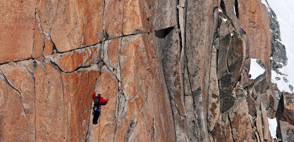 Mont Blanc Rock Climber