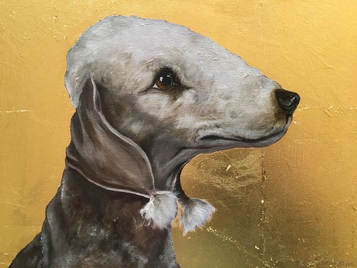 Bedlington Icon
