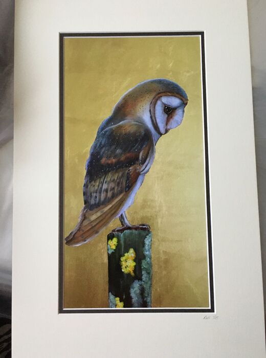 Perched - limited edition print