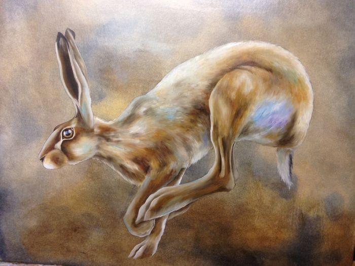 Running Hare -summer