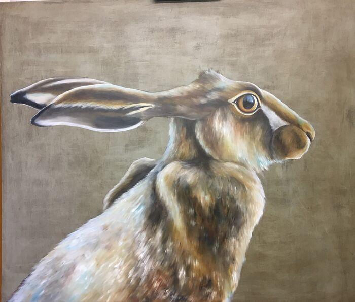Little Hare card