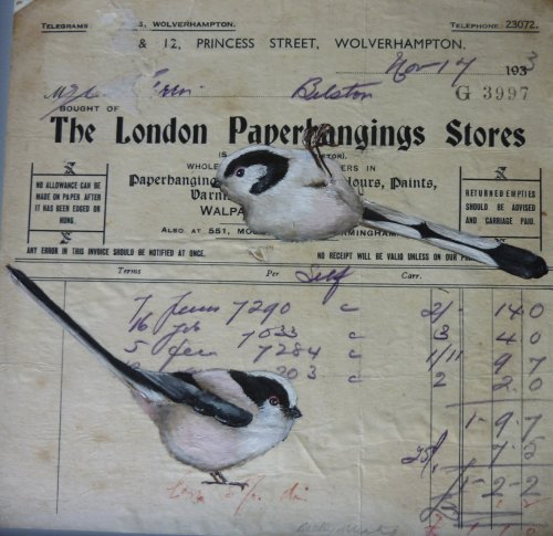 Paper Hanings ~ Long Tailed Tits