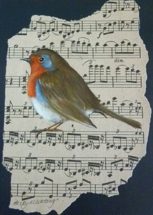 Sounds of Spring ~ Robin