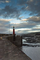 Watchet Harbour and Lighthouse