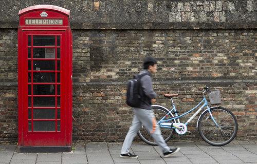 Cambridge Telephone box
