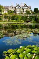 House and Lilly pond at Bodnant Gardends
