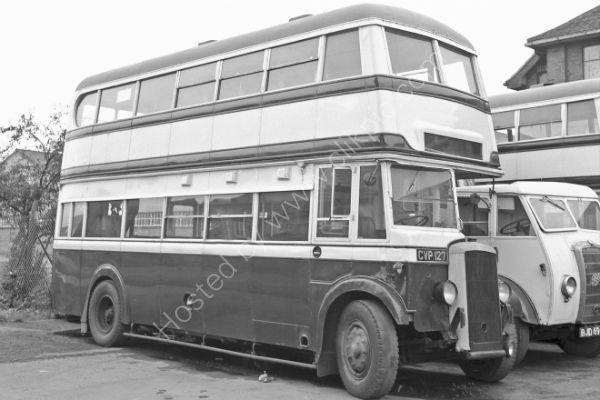 Birmingham City Transport No 1027 - CVP 127 a Daimler COG5 with MCW bodywork