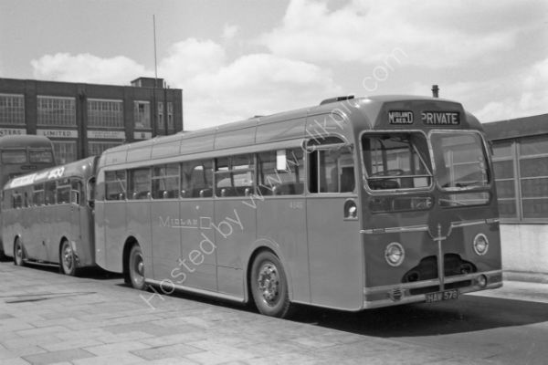 Midland Red Sentinel 4846 - HAW 578 in Leicester: classic