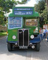 Crossville TA5 - JFM 575 awaits departure from Thurlestone, Devon.
