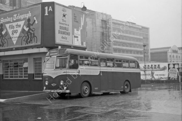 Aldershot and District No 272 - MOR 603 an AEC Reliance with Strachan bodywork