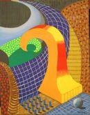 David Hockney study