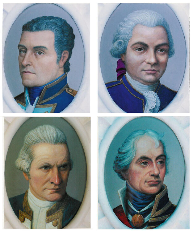 4 portraits for the SS.Great Britain