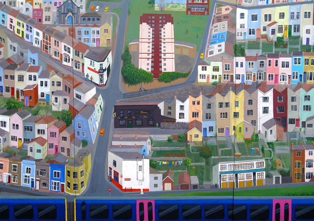 Bedminster Station Mural 2