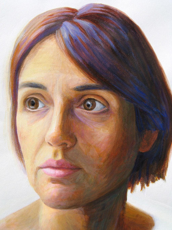portrait 80cm x 60cm