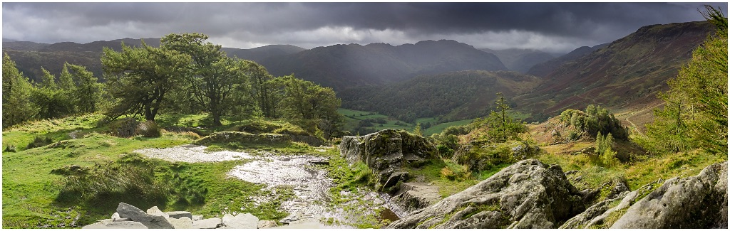 Castle Crag pan