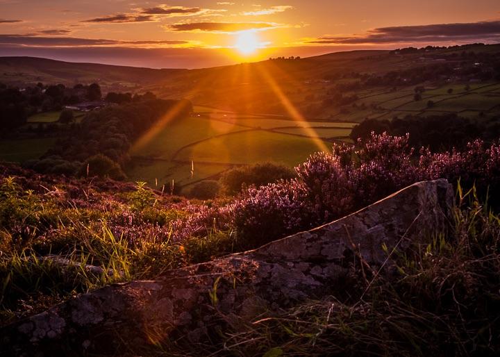 Penistone Hill Sunset