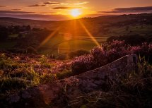 Penistone Hill Sunset