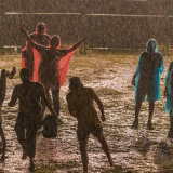 Rain at Rainforest Festival