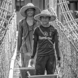 Builders on the Bridge (Borneo)