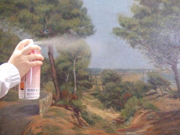 Prepared Commercial Spray Varnish