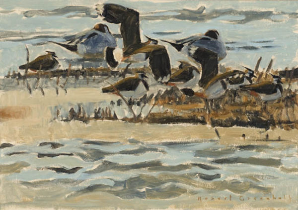 Lapwings and Pintails £750