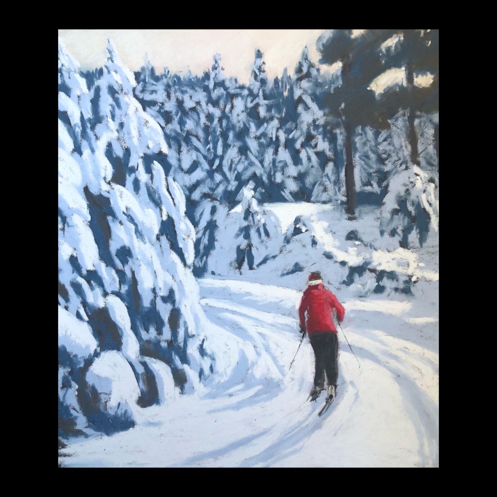 Cross country skiing Glenmore