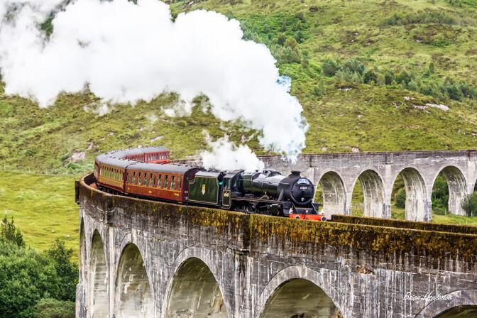 Glenfinnan Steam Train