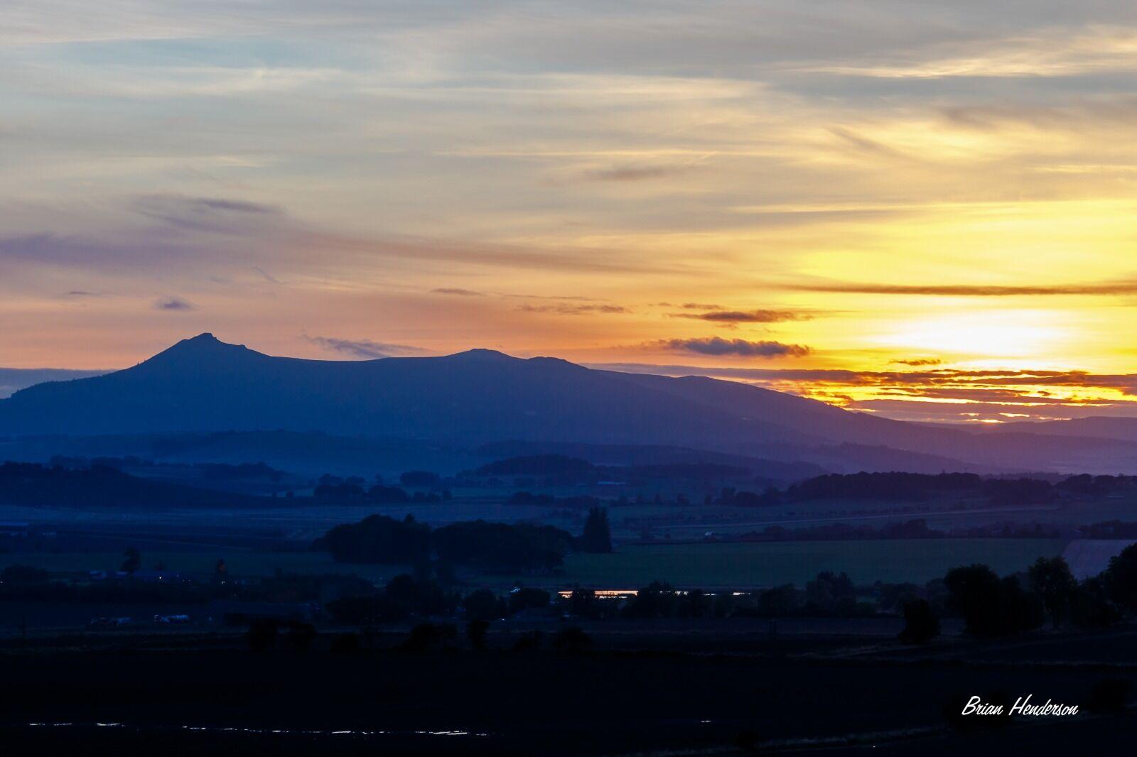 Golden Hour Over Bennachie