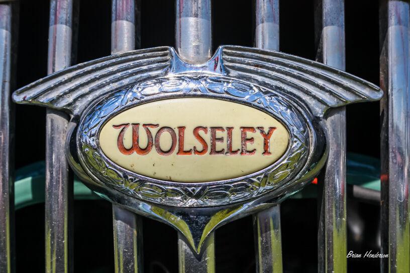 Wolseley 1500 Car Badge