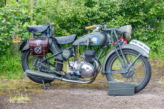 1940's Military Motorcycle