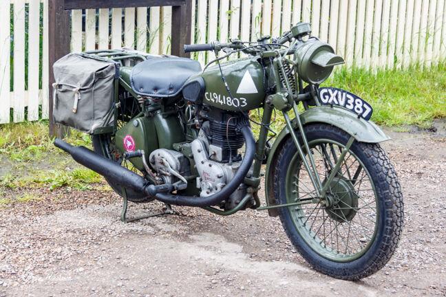 1940's Military Motorbike