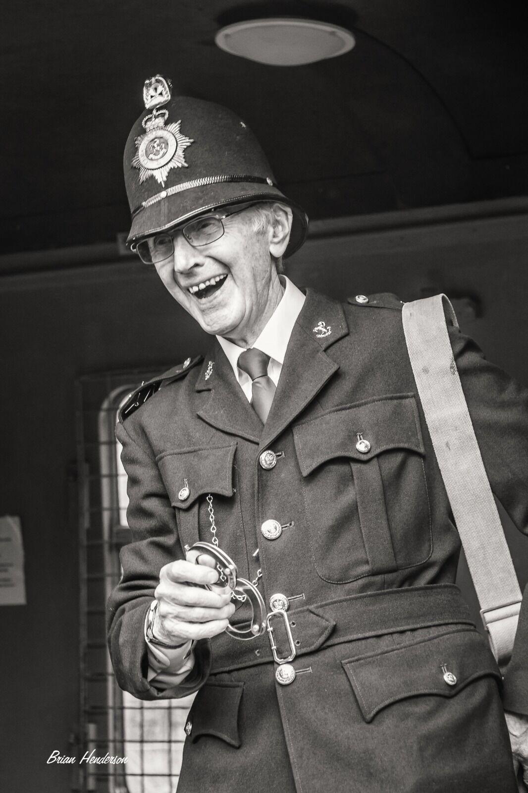 Laughing Policeman!