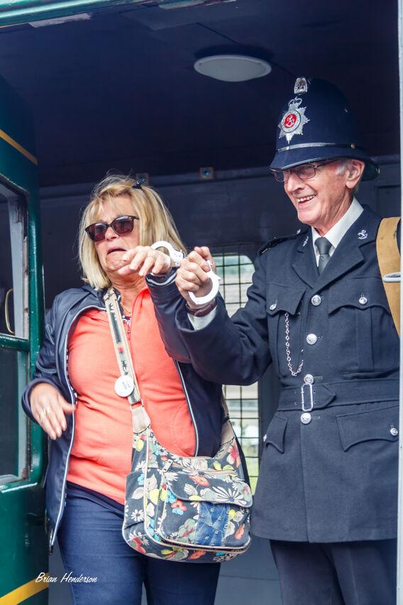 Under Arrest!