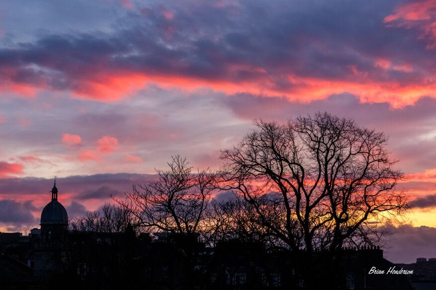 Red Sky over Granite City